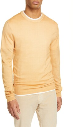 Boglioli Trim Fit Wool Crewneck Sweater