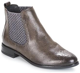 Elue par nous DERCY women's Mid Boots in Black