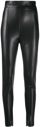 Ermanno Scervino Faux Leather Skinny Trousers