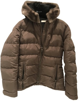 Prada Grey Mink Coat for Women