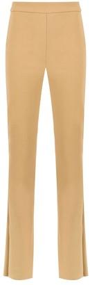 Gloria Coelho High Waisted Flared Trousers