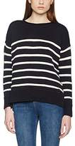 Superdry Women's Marine Stripe Slouch Knit Sports Pullover