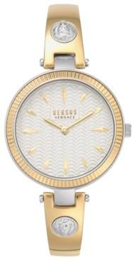 Versus By Versace Women's Brigitte Two-Tone Stainless Steel Bracelet Watch 34mm