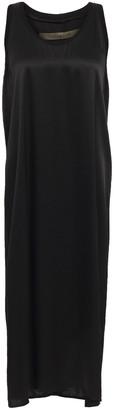 Enza Costa Satin-crepe Midi Dress