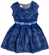 Iris & Ivy Girls 7-16 Floral-Cutout A-Line Dress