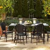 Williams-Sonoma Williams Sonoma La Coupole Indoor/Outdoor Dining Table, Rectangular Pietra Cardoza Top