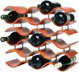 Oenophilia Bali 15-Bottle Wine Rack in Spiced Pumpkin