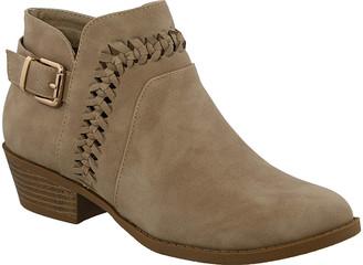 Top Moda Women's Casual boots Khaki - Khaki Hebe Ankle Boot - Women