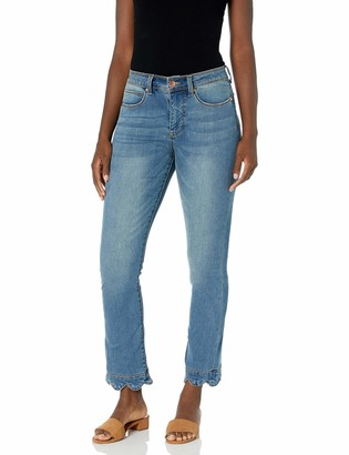 Lola Jeans Women's High Rise Straight Ankle