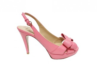 Valentino Pink Leather Heels