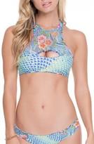 Luli Fama Women's Reversible Bikini Top