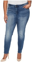 KUT from the Kloth Plus Size Diana Skinny in Ingenious/Medium Base Wash