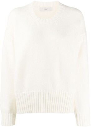Pringle Chunky-Rib Dropped-Shoulder Sweater