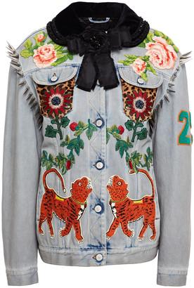 Gucci Embellished Denim Jacket