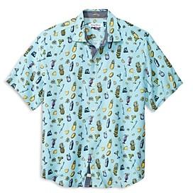 Tommy Bahama Bahama Mixer Regular Fit Camp Shirt