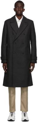 HUGO BOSS Grey Marvin Coat