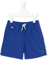Polo Ralph Lauren drawstring swim shorts - kids - Polyester - 2 yrs