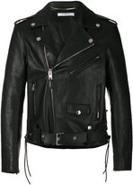 Givenchy classic biker jacket - men - Calf Leather/Lamb Skin/Cupro - 48