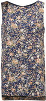ADAM by Adam Lippes floral shift blouse