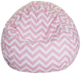 Majestic Home Goods Chevron Bean Bag Chair