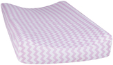 Trend Lab Lilac Orchid Bloom Chevron Changing Pad Cover