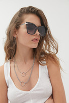 Urban Outfitters Penelope Combination Cat-Eye Sunglasses