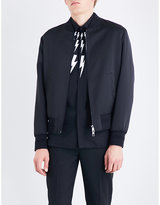 Neil Barrett Ali Satin Bomber Jacket