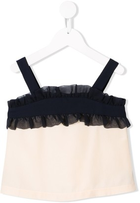 Hucklebones London Ruffle Suntop