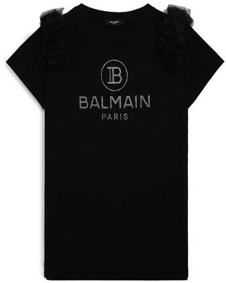 Balmain Kids Embellished Logo T-Shirt (4-16 Years)