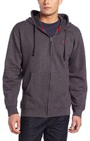 U.S. Polo Assn. Men's Long Sleeve Fleece Sweatshirt Hooded Jacket