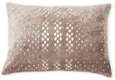 cloud 9 Grey Metal Diamonds Pillow