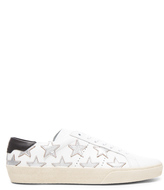 Saint Laurent Court Classic Star Leather Sneakers