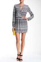 Mimichica Mimi Chica Printed Long Sleeve Mini Dress