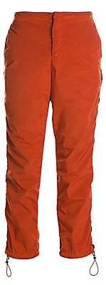 Heron Preston Men's Side-Zip Nylon Crop Pants