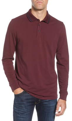 Bonobos Slim Fit Long Sleeve Superfine Pique Polo