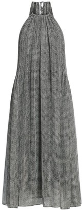 Rag & Bone Melody Diamond Print Midi Halter Dress