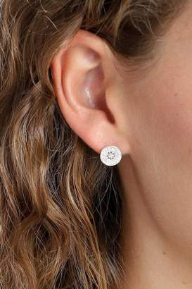 Pilgrim Silver-Plated Stud Earrings