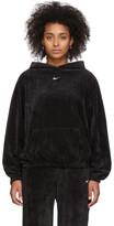 Nike Black Velour Hoodie