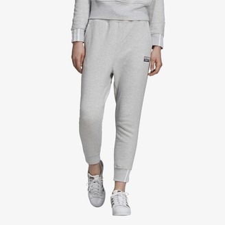 adidas 'Reveal Your Voice' Jogger Pants - Light Grey / Black - Fleece