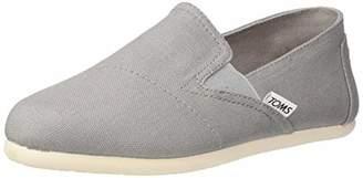 Toms Women's Redondo Loafer Flat metallic slubby woven B Medium US