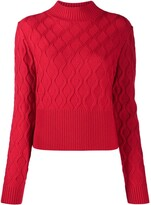Thumbnail for your product : Perfect Moment Carving wave knit jumper