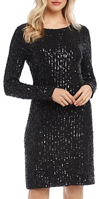 Karen Kane Sequined Sheath Dress