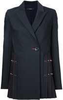 Ellery contrast blazer - women - Silk/Polyester/Spandex/Elastane/Wool - 6