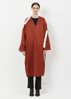 Marni clay satin duster coat