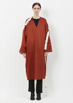 Marni Clay Satin Duster Coat