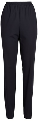 eskandar Tapered Wool-Rich Trousers