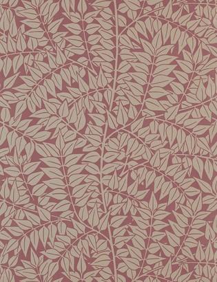 Lulu & Georgia Morris & Co. Branch Wallpaper, Heather