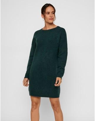 Vero Moda Short Shift Jumper Dress with Long Sleeves