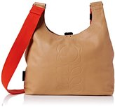 Orla Kiely Embossed Flower Leather Midi Sling Bag