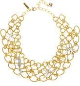 Oscar de la Renta Fishnet Star Fish Necklace